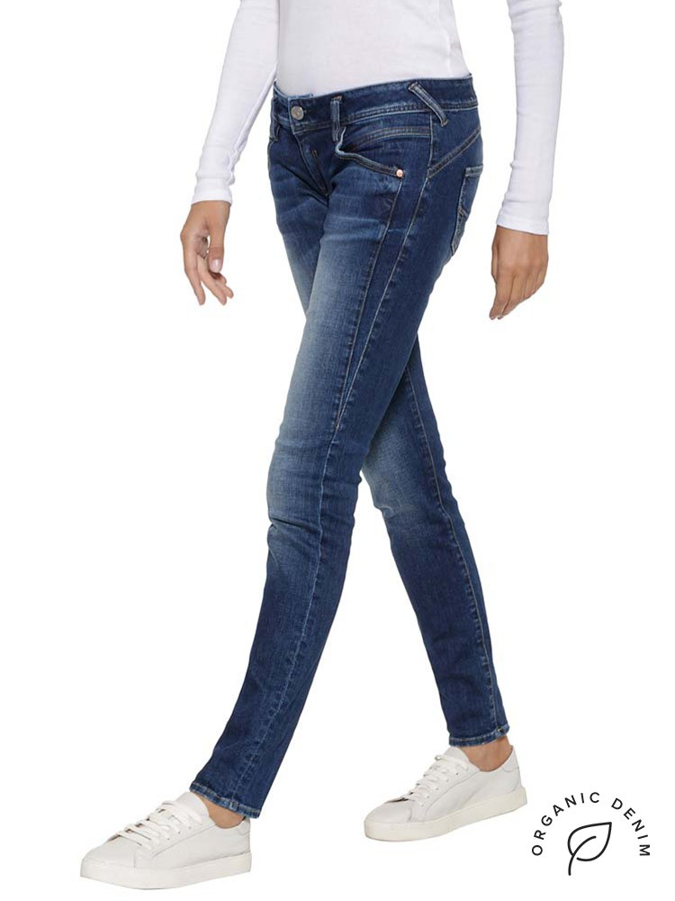 Herrlicher Gila Slim Jeans mit Bio-Baumwolle