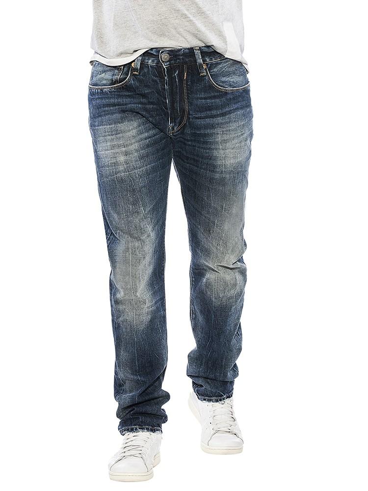 Herrlicher Hero Denim Stretch Jeans blau vorne