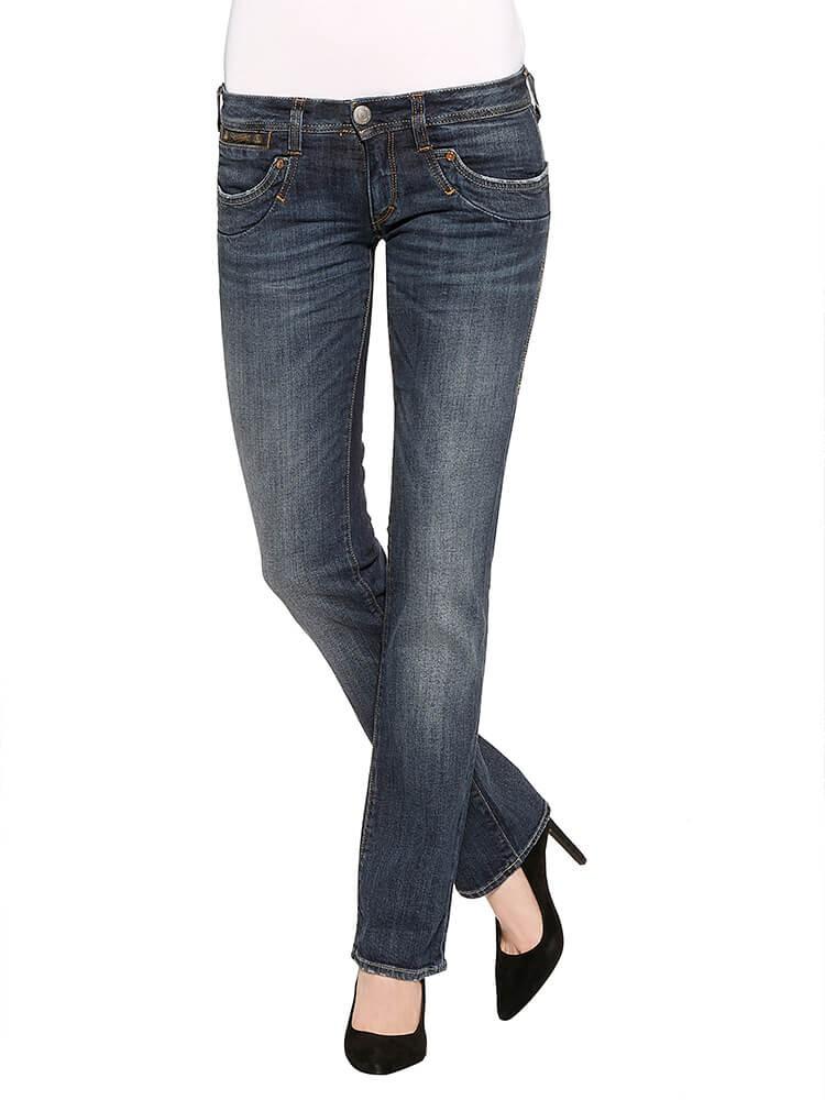 Herrlicher Piper Denim Comfort + Jeans dunkelblau vorne