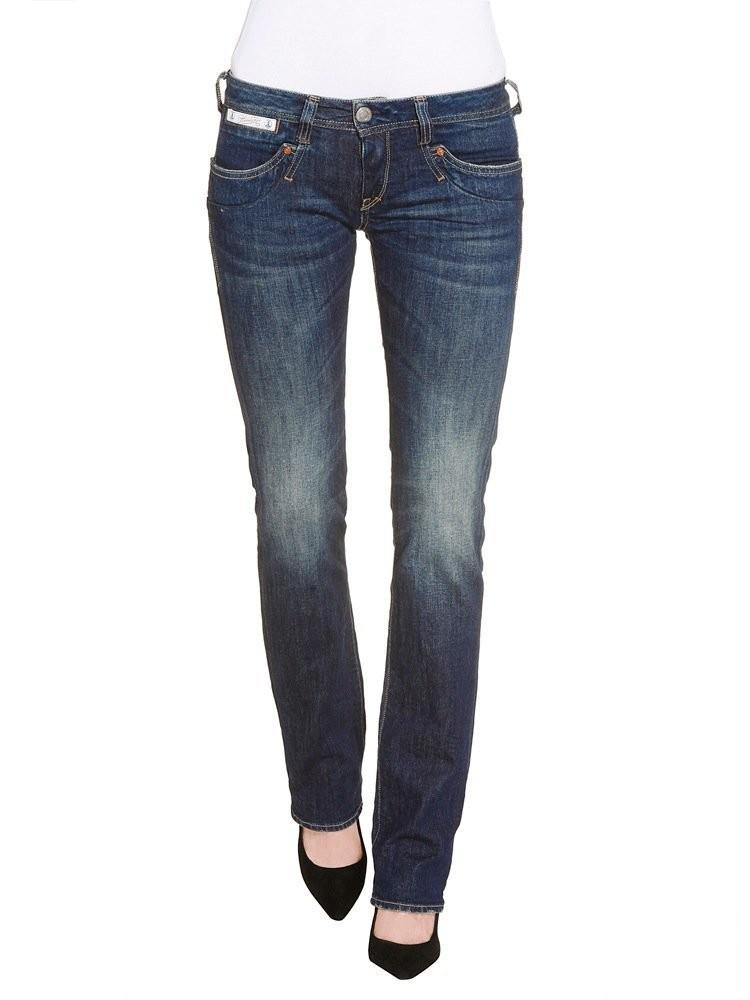Herrlicher Piper Denim Stretch Jeans dunkelblau