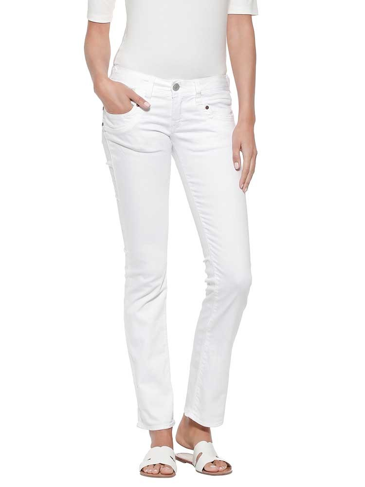 Herrlicher Piper Straight White Jeans