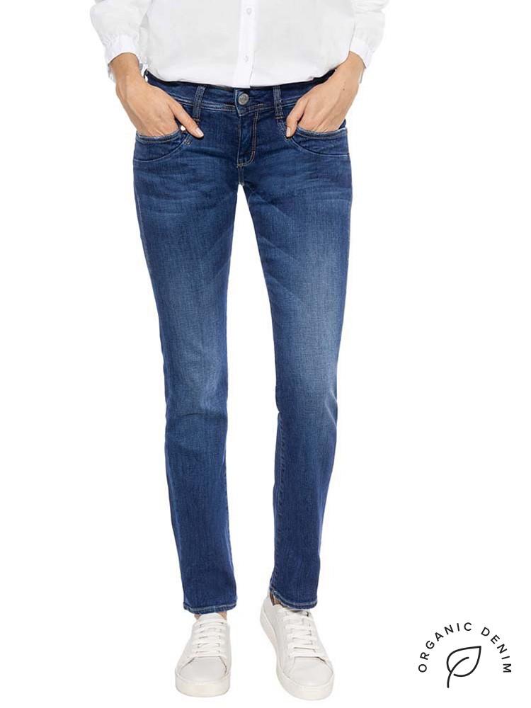 Herrlicher Piper Straight Jeans mit Bio-Baumwolle