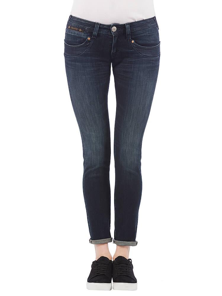Herrlicher Piper Slim Denim Powerstretch Jeans dunkelblau vorne