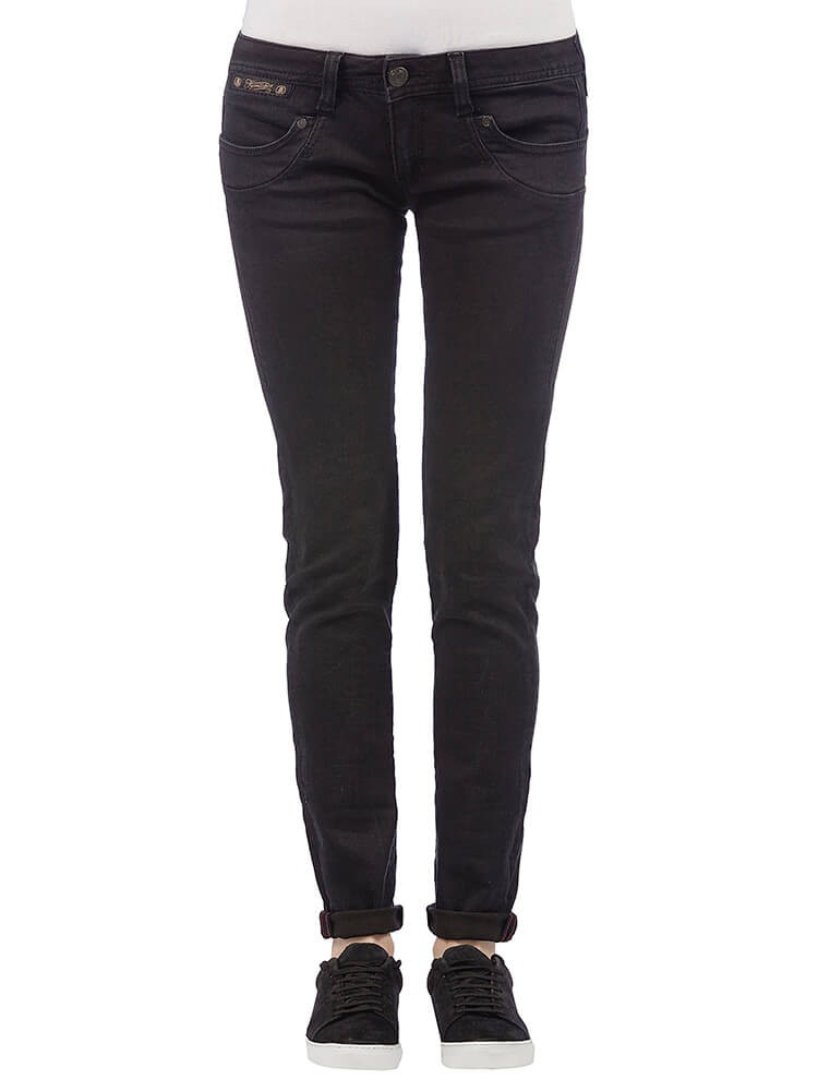 Herrlicher Piper Slim Black Stretch Jeans