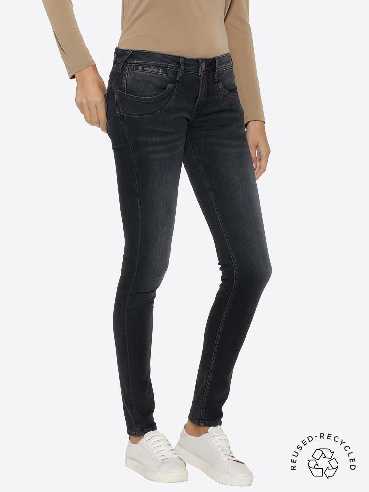 Herrlicher Piper Slim Jeans aus Reused Denim