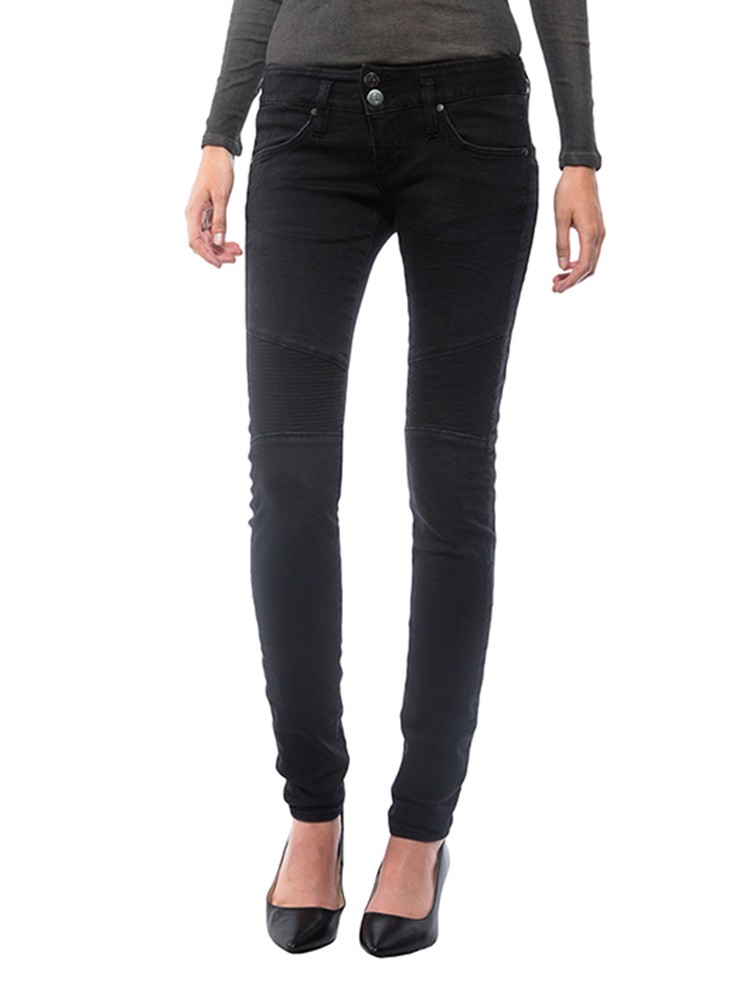 Herrlicher Moira Slim Denim Black Stretch Jeans