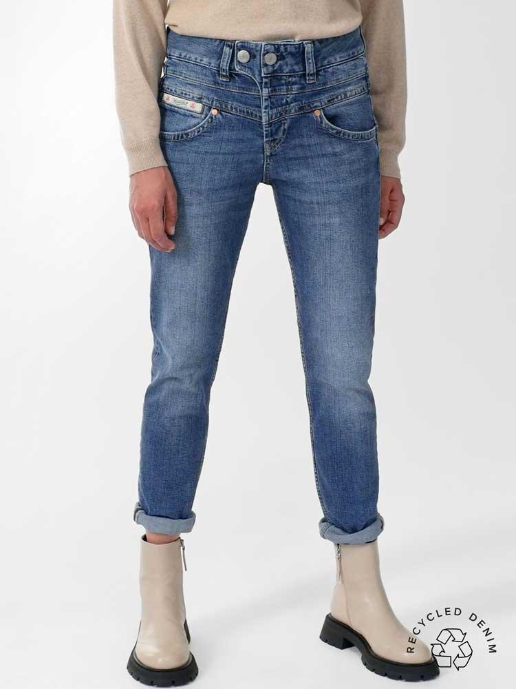 Herrlicher Bijou Jeans mit recycelter Baumwolle