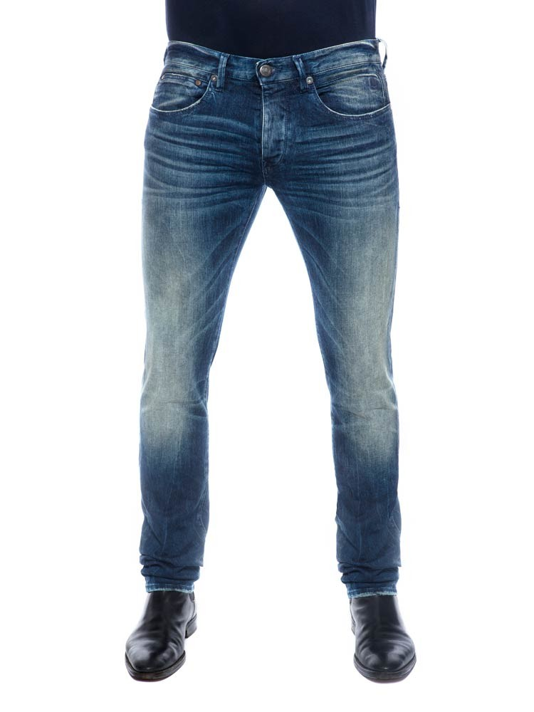 Herrlicher Tyler Slim Denim Comfort Jeans in blue core