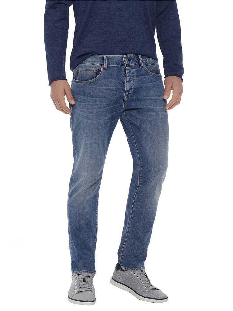 Herrlicher Tyler Tapered Cashmere-Touch Jeans