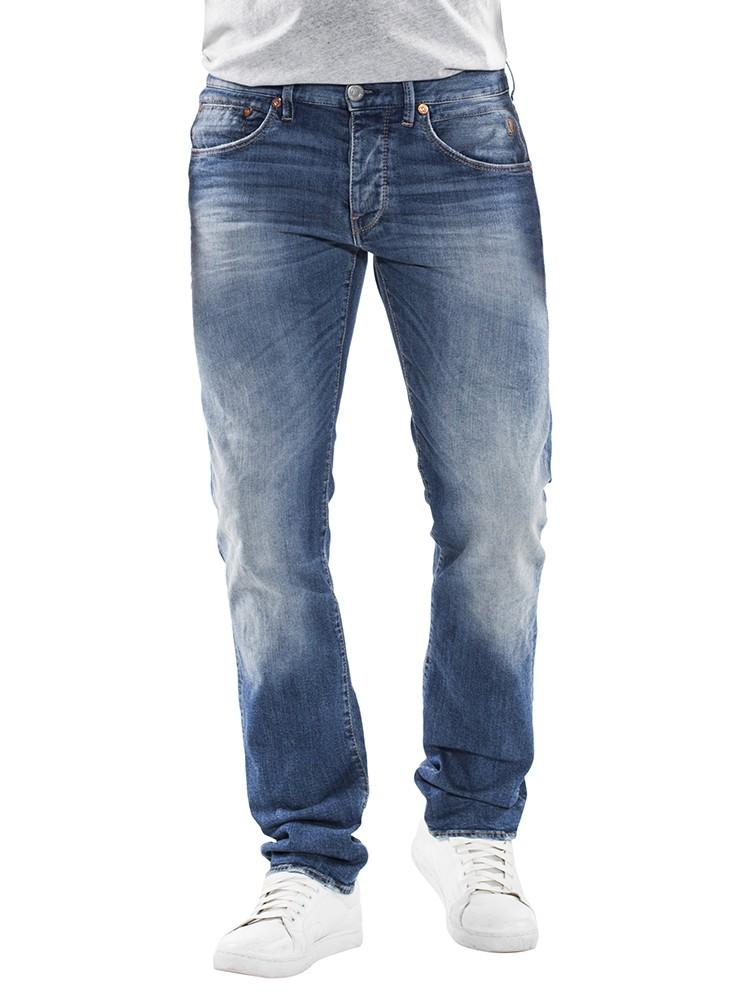 Herrlicher Tyler Denim Comfort + Jeans blau vorne