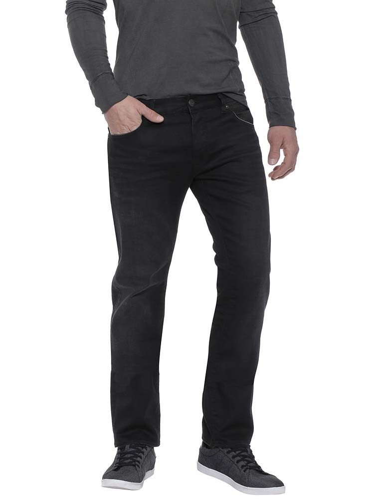 Herrlicher Tyler Denim Black Stretch - punky L32 - 28