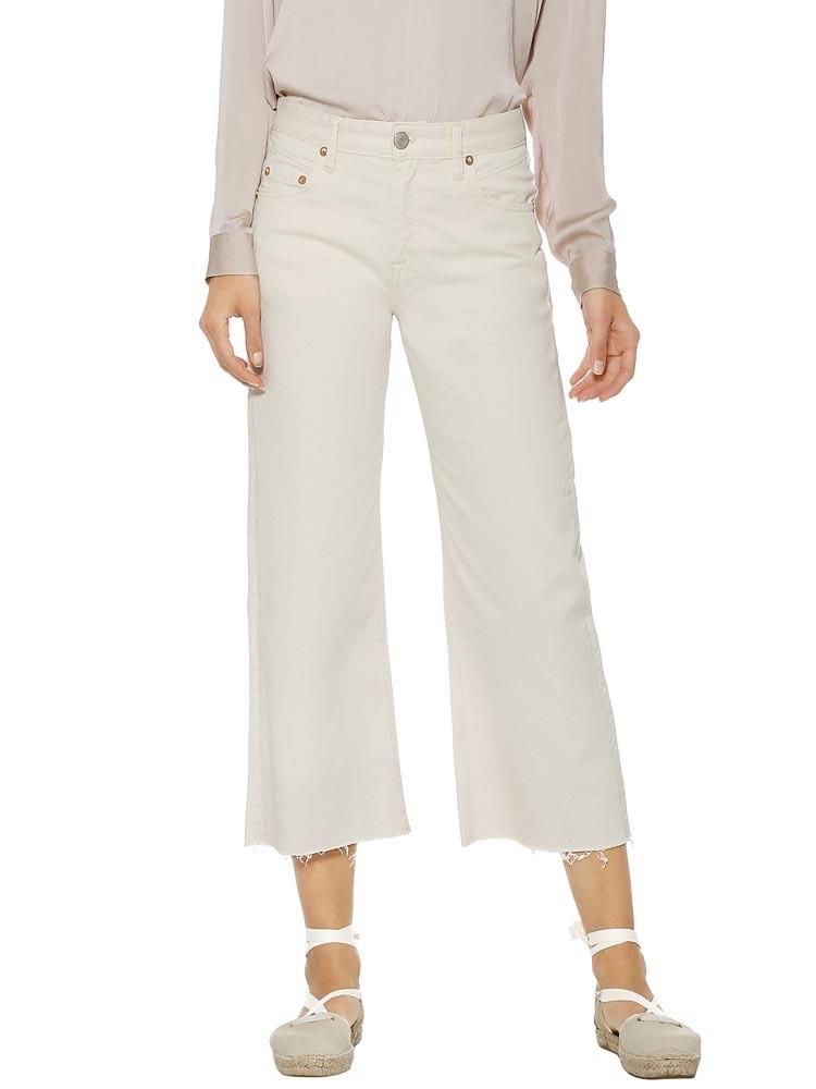 Herrlicher Norma Sailor Cropped Jeans White
