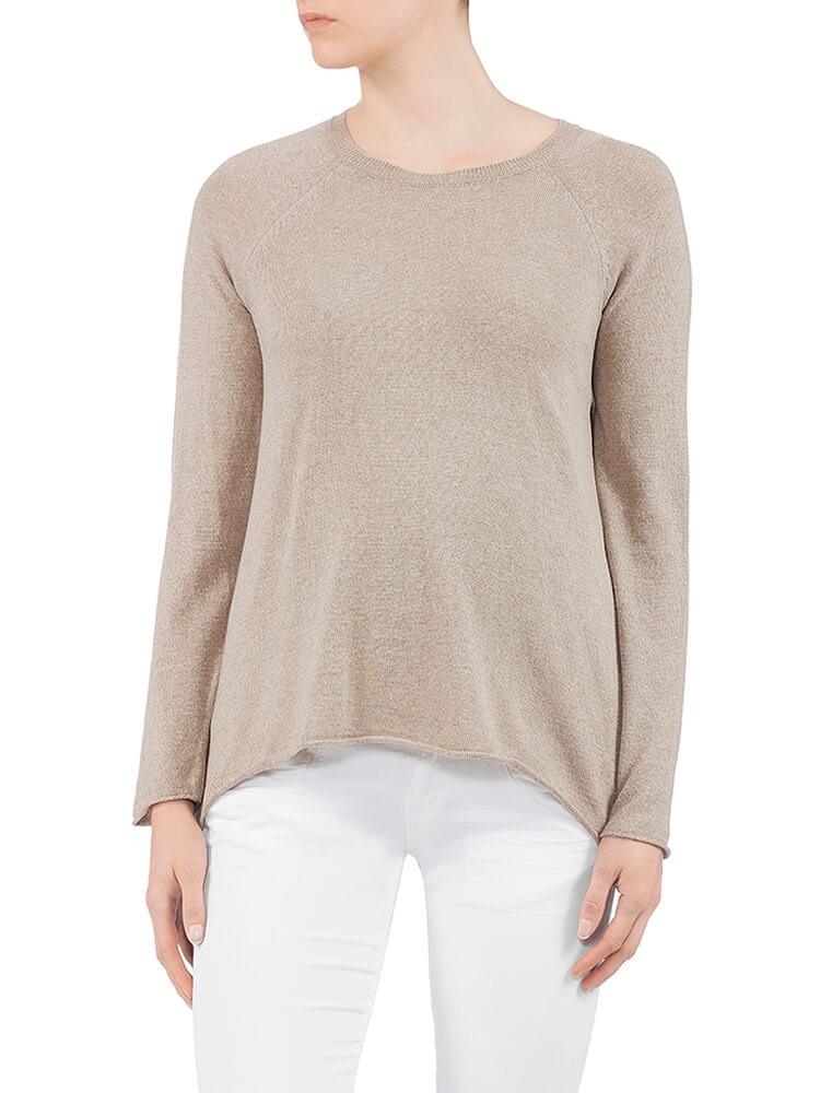 Herrlicher Akaya Wool Mix Pullover beige