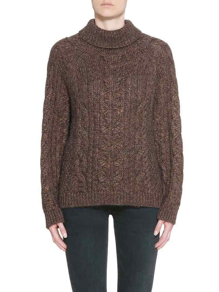 Herrlicher Mirija Wool Mix Pullover braun