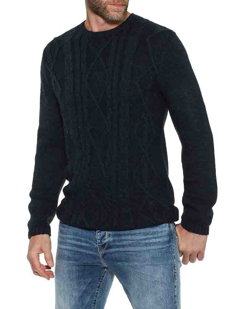 Herrlicher Ralle Pullover mit Zopfmuster