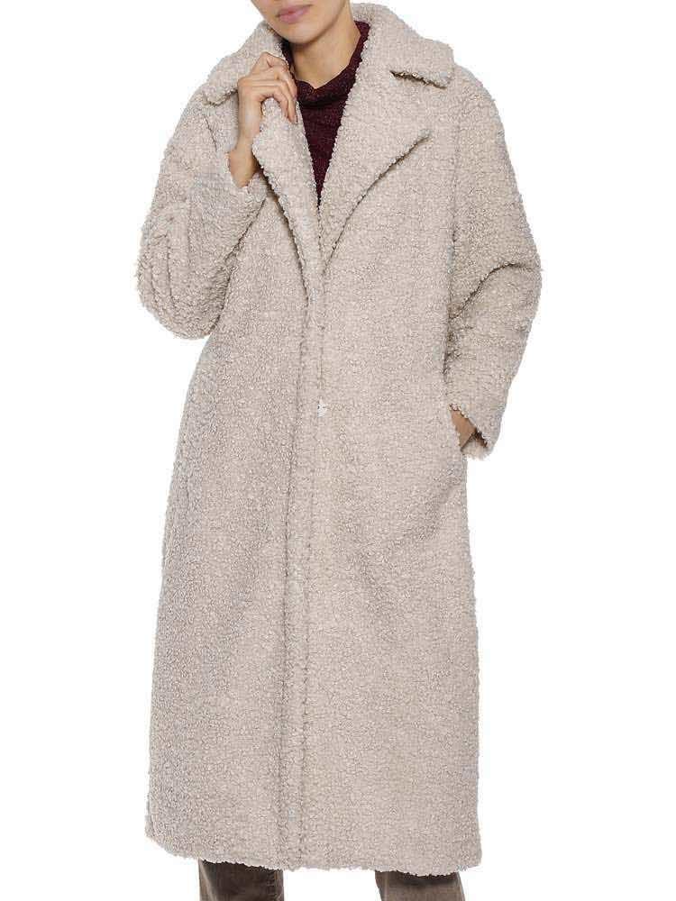 Mantel 'Tabby Fake Fur
