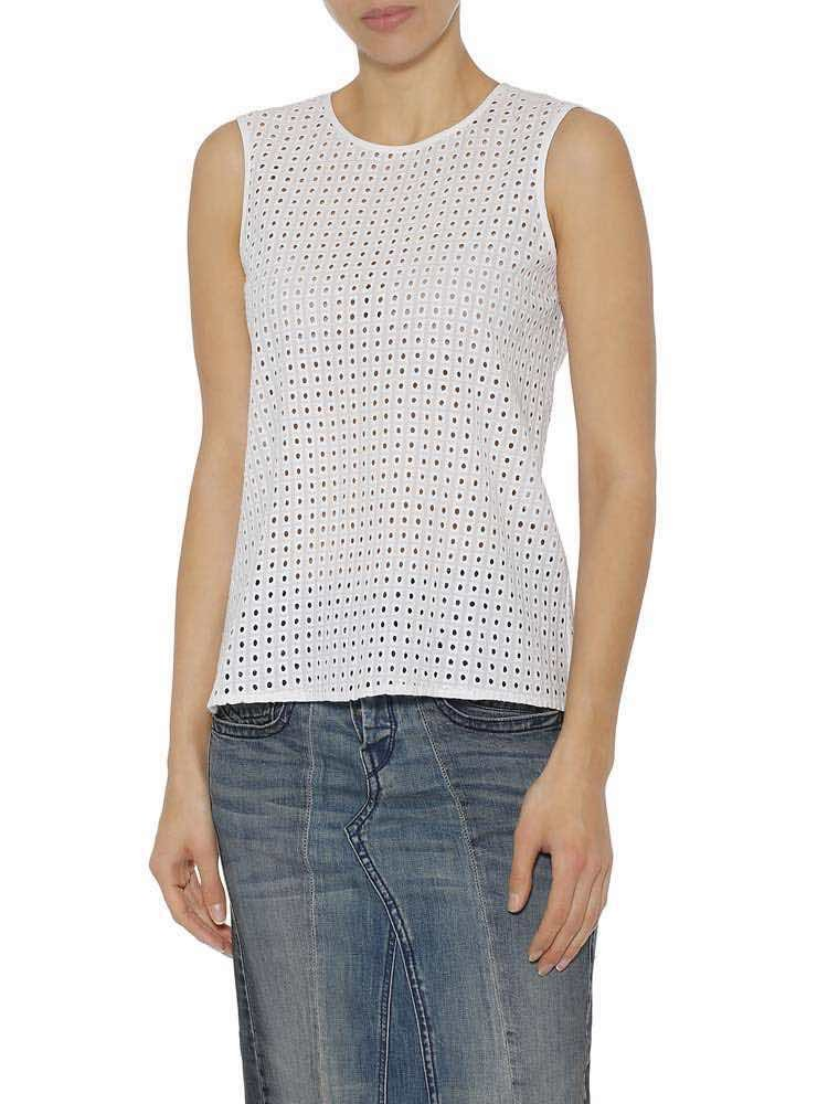 Herrlicher Ines Cotton Lace - white - L