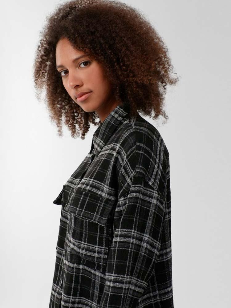 Herrlicher Lash Hemd mit Karo-Muster