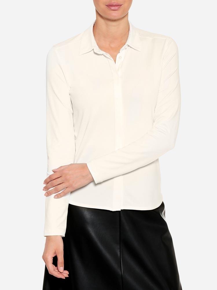 Herrlicher Viktoria Jersey Stretch Bluse