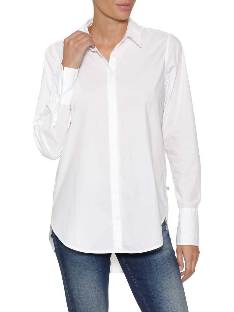 Herrlicher Adalie Hemdbluse aus Baumwoll-Popeline