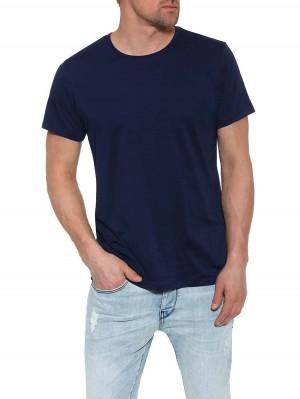 Herrlicher Base T-Shirt aus Supima®-Baumwolle