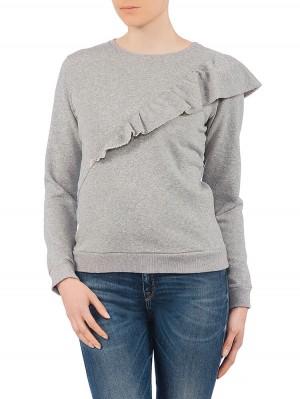 Herrlicher Estelle Sweat Shirt grau