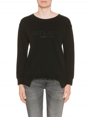 Herrlicher Ina Sweatshirt schwarz