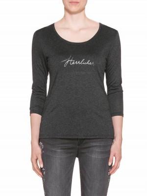 Herrlicher Mirela Single Jersey Shirt