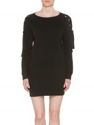 Herrlicher Violeta Sweat Kleid schwarz