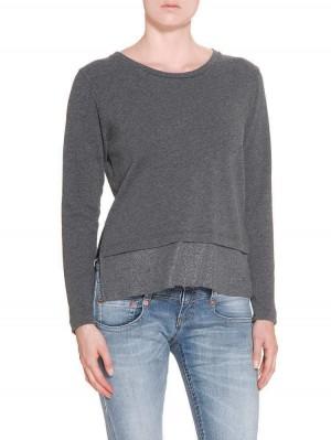 Herrlicher Sence Sweatshirt grau
