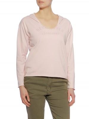Herrlicher Sonja Sweat Shirt Farbe rose
