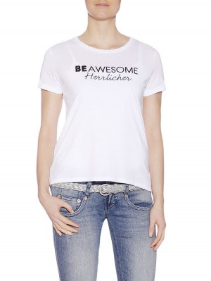 Herrlicher Kendall Jersey T-Shirt be awesome