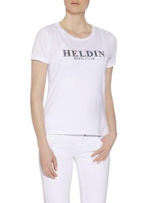 """Herrlicher Kendall Jersey T-Shirt """"Heldin"""""""