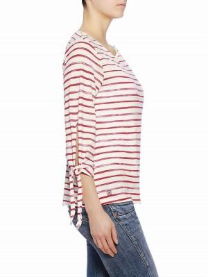 Herrlicher Etta Jersey Striped Shirt