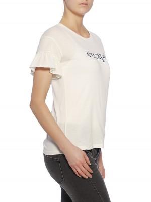 Herrlicher Everly Jersey Statement T-Shirt