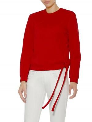 Herrlicher Preto Sweatshirt in Neopren-Optik