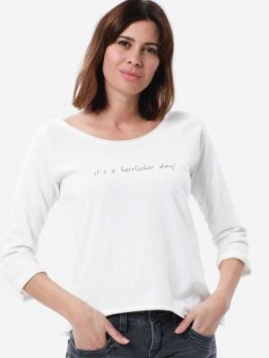 Herrlicher Angelika Sweatshirt mit Print
