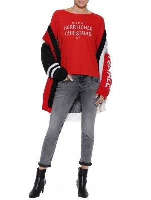 Herrlicher Feliz Christmas Langarmshirt