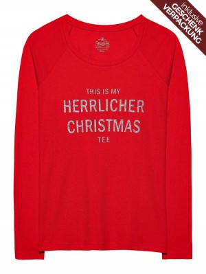 Herrlicher Feliz Langarmshirt aus der Christmas Collection