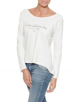 Herrlicher Freyja Sweatshirt mit Print