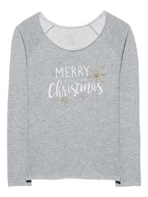 Herrlicher Chrisann Christmas Sweatshirt