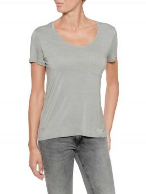 Herrlicher Enja Jersey T-Shirt aus Viskose