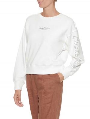 Herrlicher Carrie Sweatshirt mit Logoprint