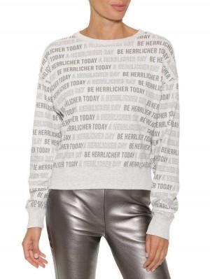 Herrlicher Carrie Sweatshirt mit Print