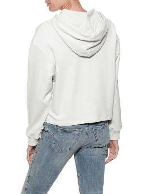 Herrlicher Haven Sweat Hoodie mit Statementprint