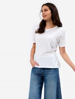 Herrlicher Jorja Jersey Shirt mit Gummizug