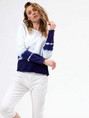 Herrlicher Belicia Sweatshirt im Batik Look