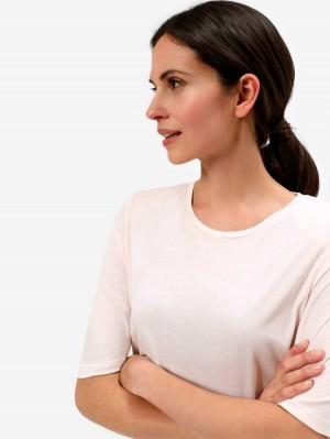 Herrlicher Evolette Jersey T-Shirt aus Viskose