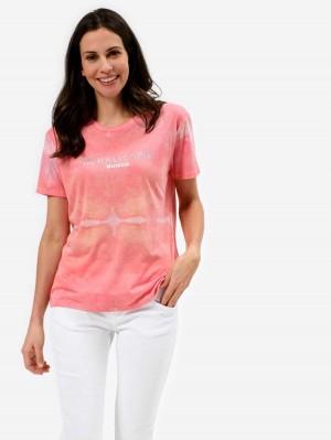 Herrlicher Camber T-Shirt im Batik Look