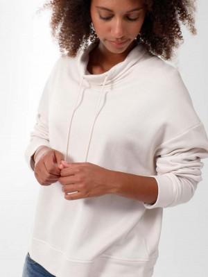Herrlicher Enola Sweatshirt mit Kragen